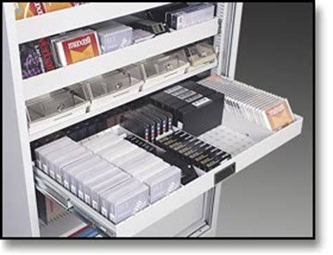 Cd Drawer Inserts by Dasco Data Media Cabinets Laptop Storage Computer Cabinets