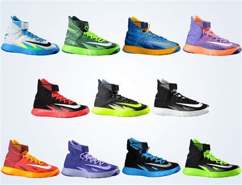 color ways 11 different nike zoom hyperrev colorways releasing in