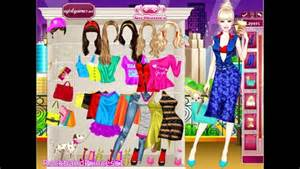 New yorker barbie dress up game barbie games for girls to play