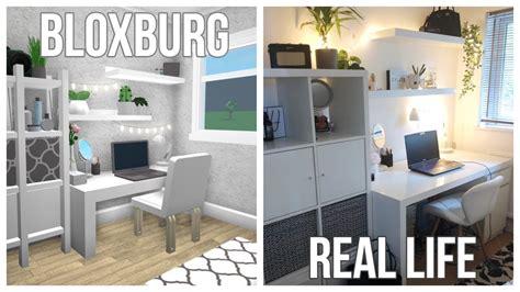 bloxburg building  real life bedroom  speak lol