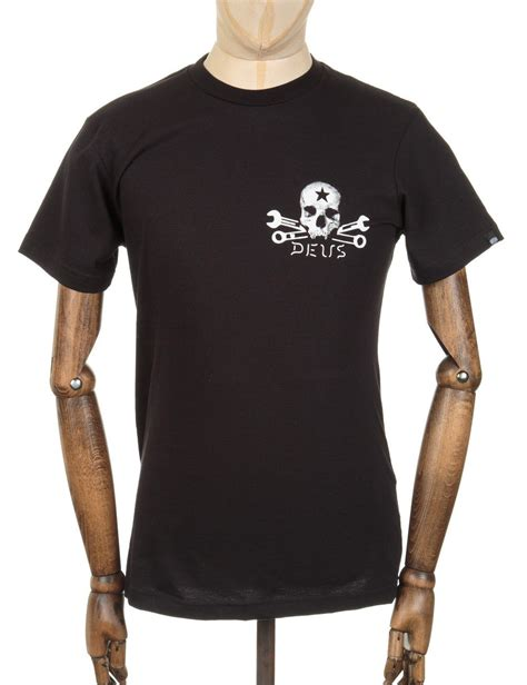 Tshirt Deus Skull deus ex machina skull t shirt black deus ex