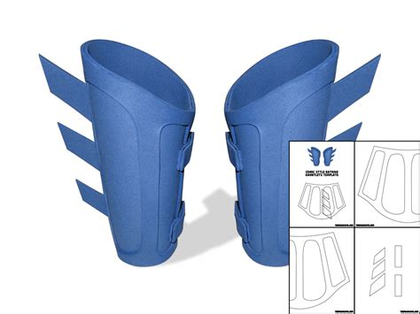 gauntlet template template for comic style batman gauntlets the foam cave