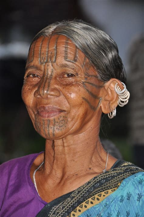 tribal tattoo face s tattoos go beyond