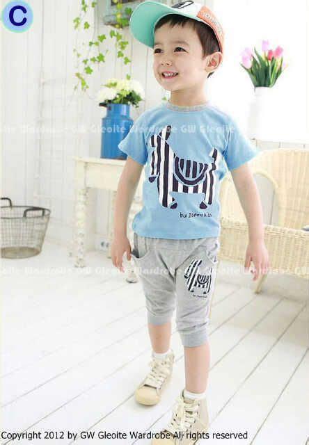 Baju Anak Gw Setelan Anak Laki Laki Gw 49 C Usia 2 3 4 5 6 7tahun