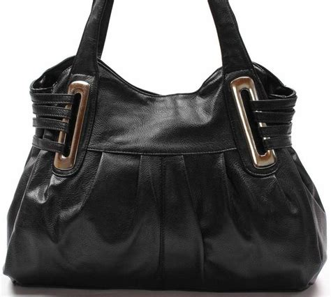 Tote Bag Blacu Costum Tote Bag Blacu black large faux leather handbag purse hobo shoulder bag tote 5101gn