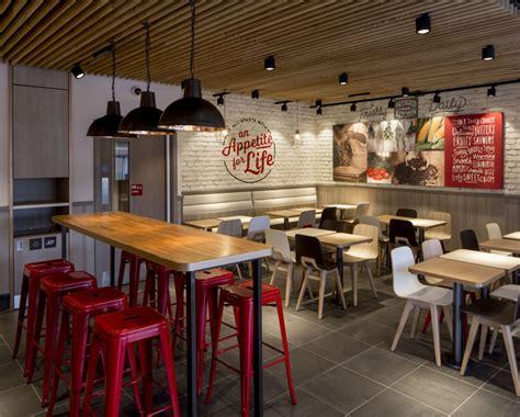 layout of kfc kitchen kfc unveils radical new interior designs design week