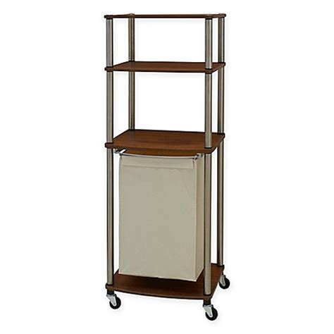 bed bath and beyond laundry her household essentials 174 laundry her storage cart bed