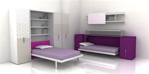 teenage bedroom furniture with desks cool teen room furniture for small bedroom by clei digsdigs