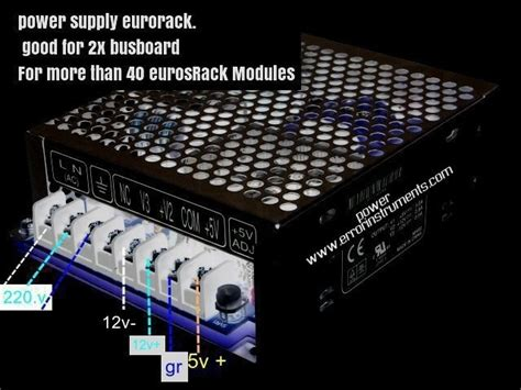 meanwell power supply eurorack meanwell power supply eurorack d i y electronic