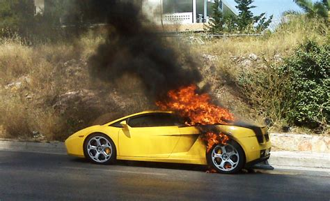 Lamborghini Gallardo Recalled Over Fire Risk