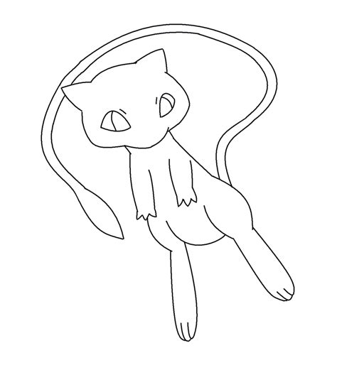 pokemon coloring pages legendary mew pokemon mew coloring pages images pokemon images
