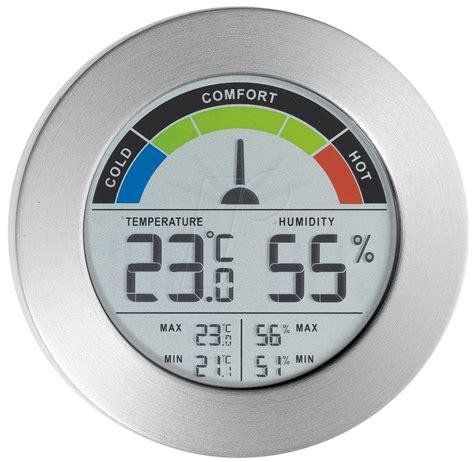 Thermometer Hygrometer ws 40372 thermometer hygrometer mit komfortanzeige bei