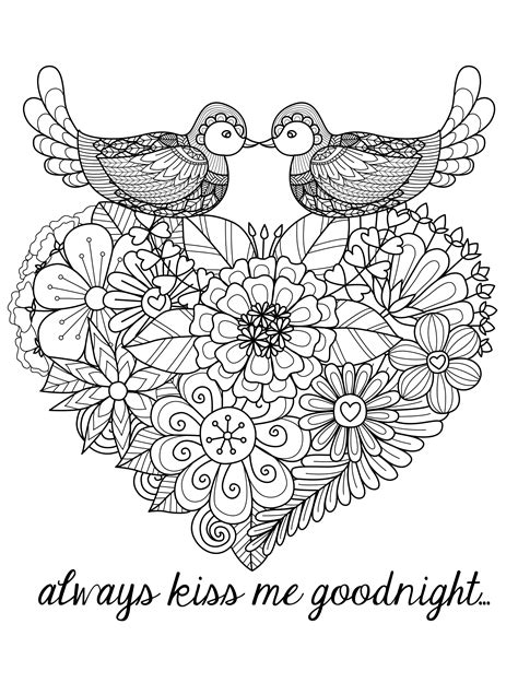free printable coloring pages for adults hearts 20 free printable valentines adult coloring pages nerdy