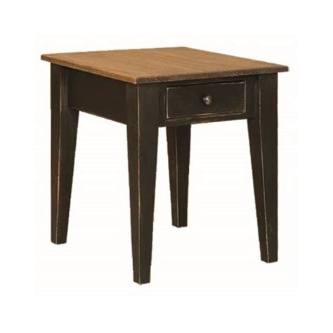 Pine End Table by Pine End Table Amish Pine End Table Country Furniture