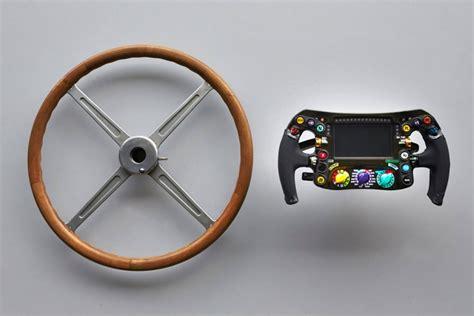 volante formula 1 un volant de formule 1 mercedes en 1954 et 2014