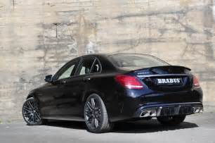 Who Makes Mercedes Brabus Makes The 2016 Mercedes Amg C63 S Even More
