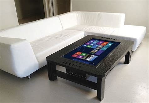 Tablet Coffee Table Wolf And Otter Habitat Coffee Tables Craziest Gadgets