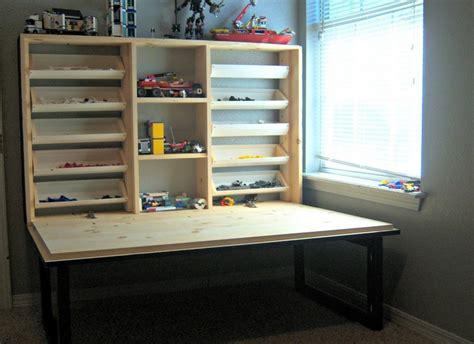diy folding lego table home design garden