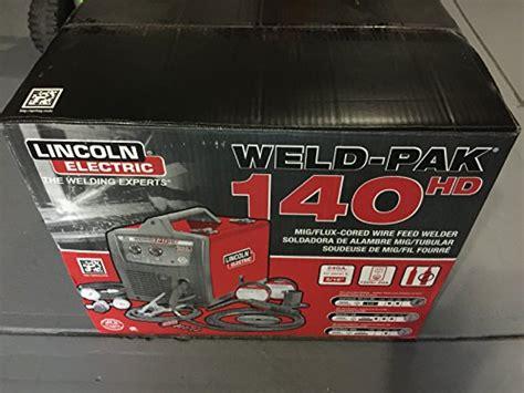 lincoln welding supply lincoln electric weld pak 140 hd wire feed welder k2514 1