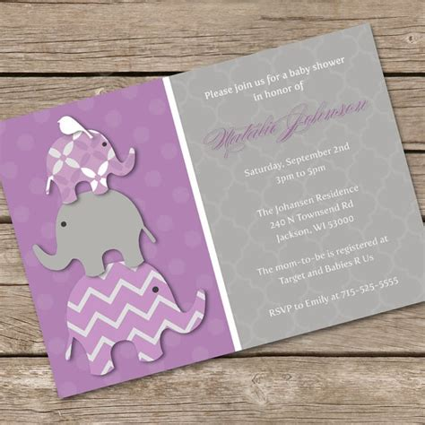 Purple Elephant Baby Shower Theme by 98 Best Images About Baby On