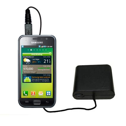 Battery Power Vizz Samsung I9000 2300mah 3rd generation powerful audio fm transmitter with car