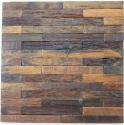 natural wood mosaic tile rustic wood wall tiles nwmt010 kitchen backsplash wood panel