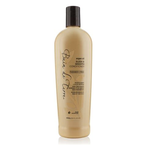 Top 8 Products To Reduce Hair Frizz by Bain De Terre Argan Sleek Smooth Conditioner