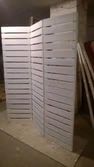 wooden pallets room divider pallet furniture diy