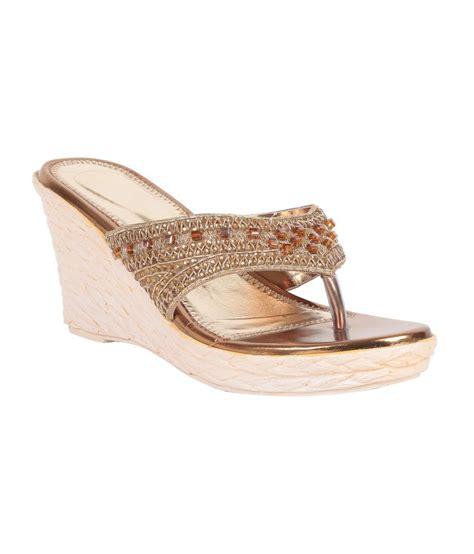 adorn brown wedges sandals price in india buy adorn brown