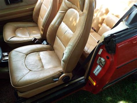 sell   red saab  turbo convertible  door   good condition  brick