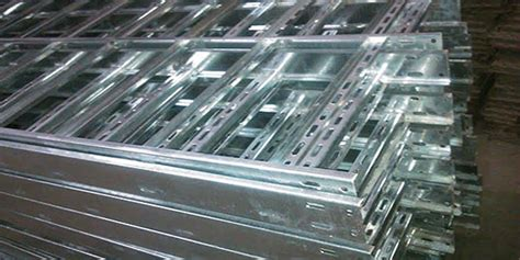 hot dip galvanized ladder type cable trays galvanised