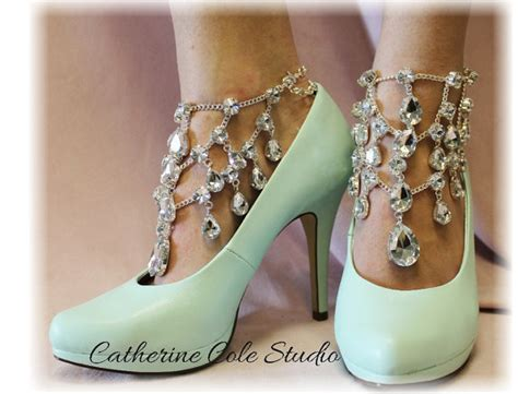 how to make shoe jewelry shoe jewelry barefoot sandals by foreverlaceboutique