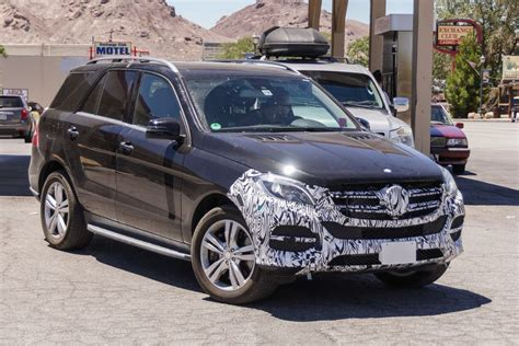 new mercedes ml facelift for mercedes ml and a new in hybrid version