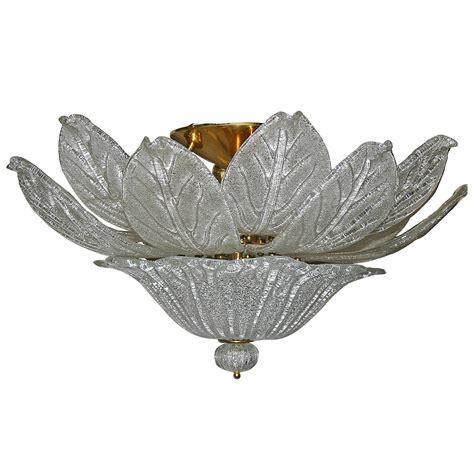 Flower Light Fixture Murano Quot Flower Quot Glass Light Fixture At 1stdibs