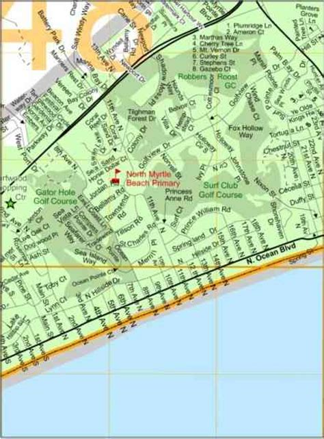 map of myrtle map of myrtle map travel holidaymapq