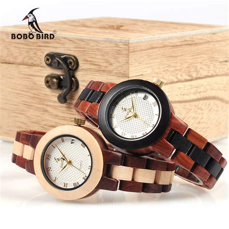 Bobo Bird 2017 Two Tone Wooden For Quartz Brand Design מוצר bobo bird 2017 newest two tone wooden for