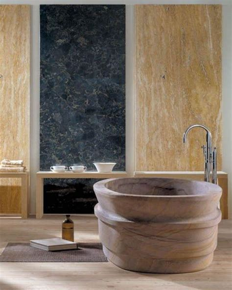 bathroom natural stone 20 amazing bathroom designs with natural stone bathtub