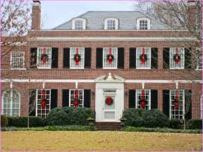 Colonial front door christmas decorations home design ideas