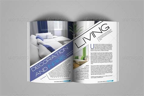 Creative Indesign Magazine Template 50 Pages By Jazh Graphicriver Creative Indesign Templates