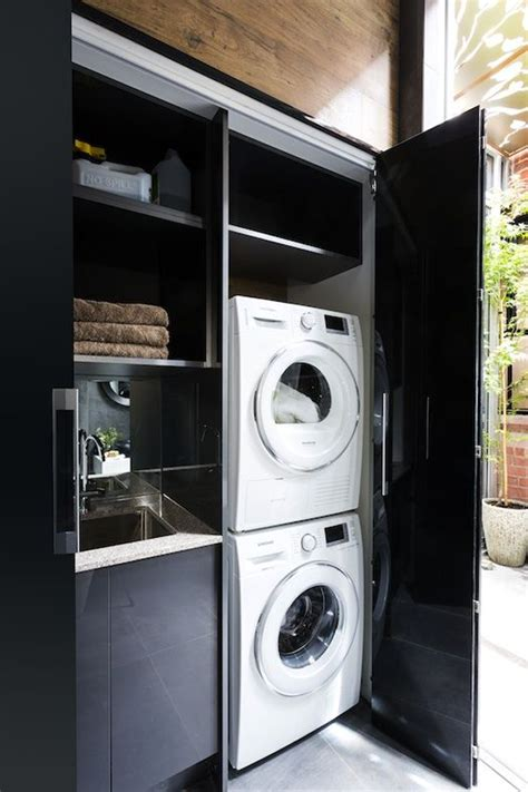 20 Stylish And Hidden Laundry Room Designs Cool Laundry