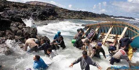 bureau d immigration australie au maroc nador 6 morts apr 232 s le naufrage d une embarcation d