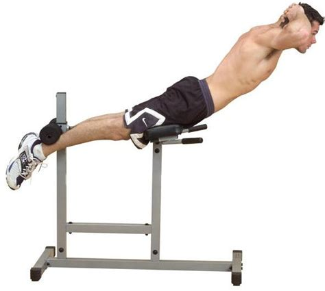 bench back exercises body solid powerline roman chair back exercise equipment