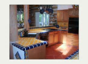 tile floors backsplash kitchens island mexicantiles mexican talavera tile in kitchen island