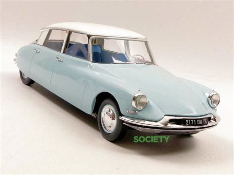 Citroen Ds19 1955 Burago 132 norev exclusive european colour citroen ds19 1956 diecastsociety
