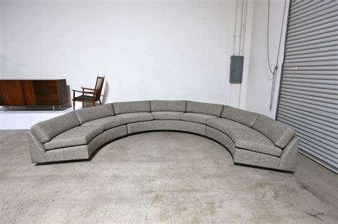 circular sofa sectional circular sectional sofa by milo baughman at 1stdibs