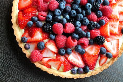 fruit tart  fresh berries