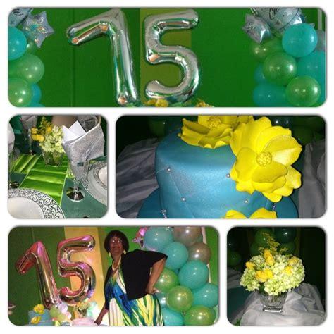 75th Birthday Decorations by 75th Birthday Dinner Ideas