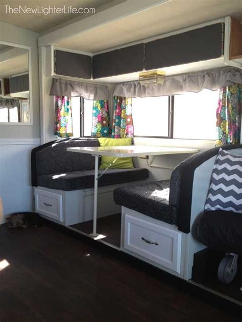 rv ideas renovations 95 best travel trailer renovation ideas images on