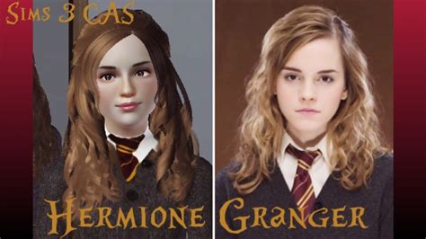 Hermione Granger Harry Potter 3 by Sims 3 Create A Sim Hermione Granger Harry Potter