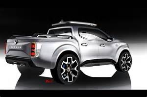 new cars with styles renault alaskan production model leaks ahead of reveal